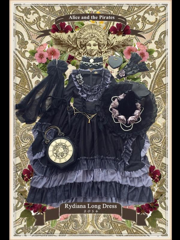 ByakuyAの「ALICE and the PIRATES」をテーマにしたコーディネート(2018/10/20)
