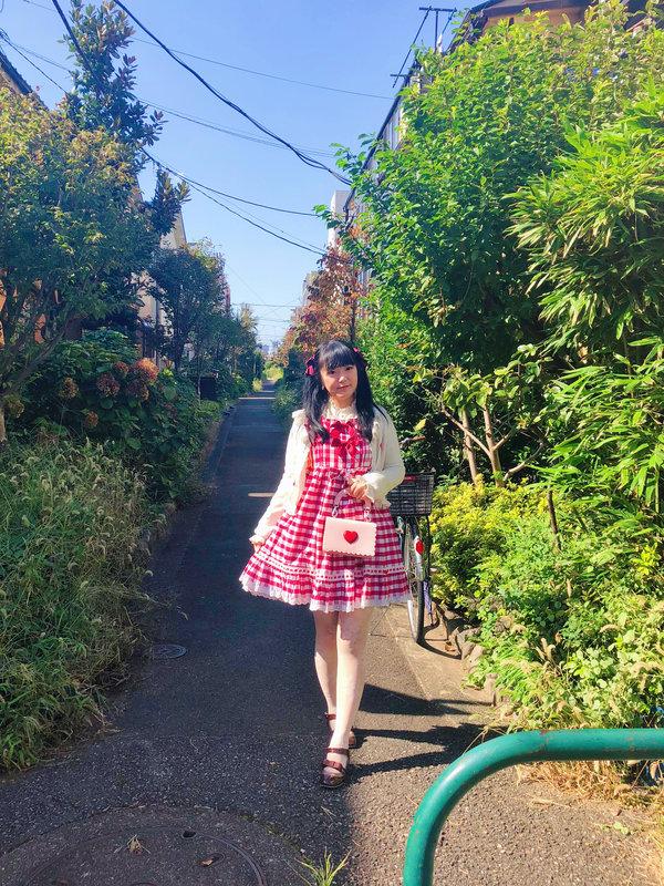 舞の「Sweet lolita」をテーマにしたコーディネート(2018/10/24)