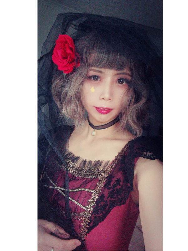 汐顔の「Halloween」をテーマにしたコーディネート(2018/10/26)