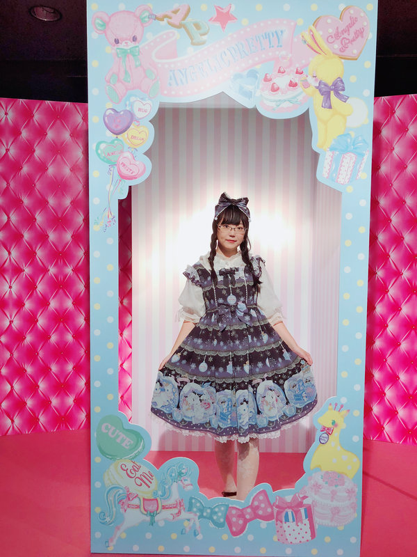 舞's 「Angelic pretty」themed photo (2018/10/27)