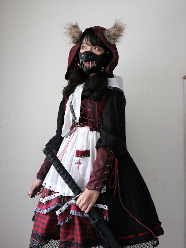 无知少女马花花の「Halloween」をテーマにしたコーディネート(2018/10/30)