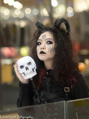 Qiqiの「Halloween」をテーマにしたコーディネート(2018/10/31)