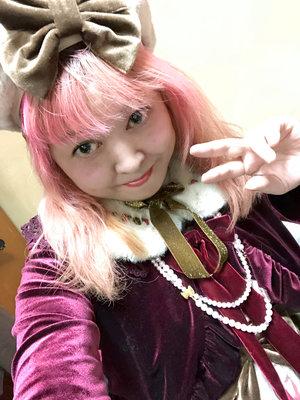 雪姫の「Classical Lolita」をテーマにしたコーディネート(2018/11/06)