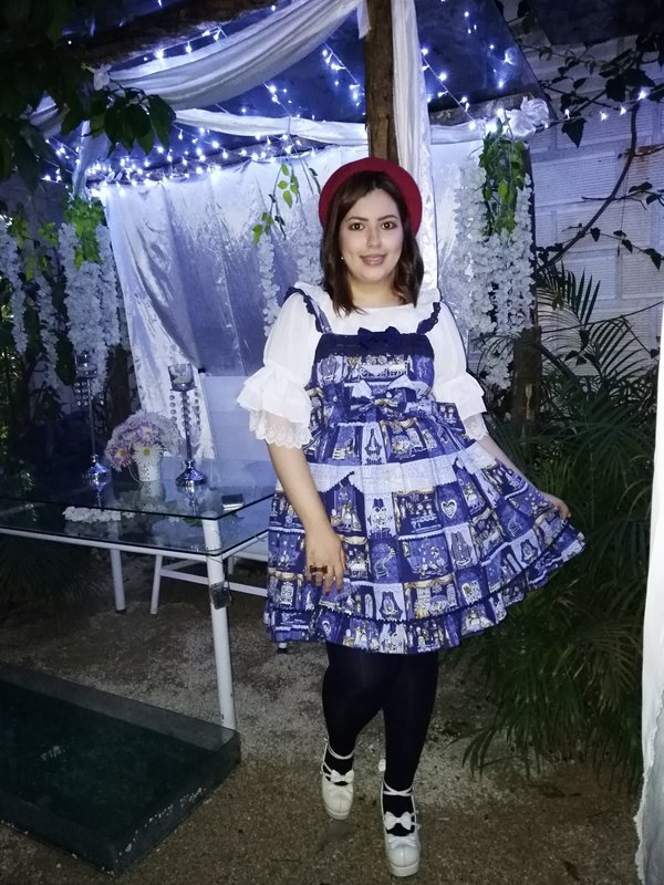Tatiana D'Rosenrot's 「Lolita」themed photo (2018/11/08)