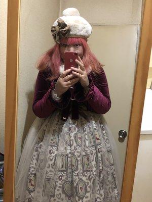 雪姫の「Classic Lolita」をテーマにしたコーディネート(2018/11/08)