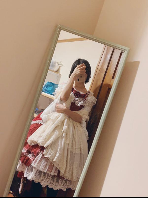 鹤匿の「Classical Lolita」をテーマにしたコーディネート(2018/11/08)