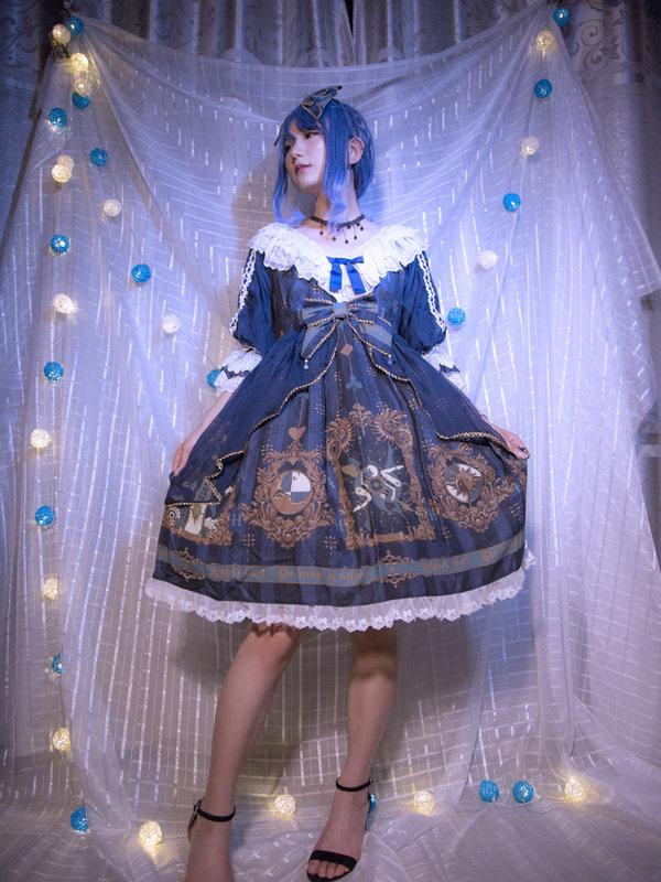 栗原沙耶の「Classical Lolita」をテーマにしたコーディネート(2018/11/09)