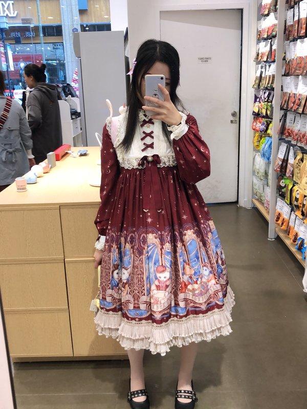 栗原沙耶の「Lolita」をテーマにしたコーディネート(2018/11/12)