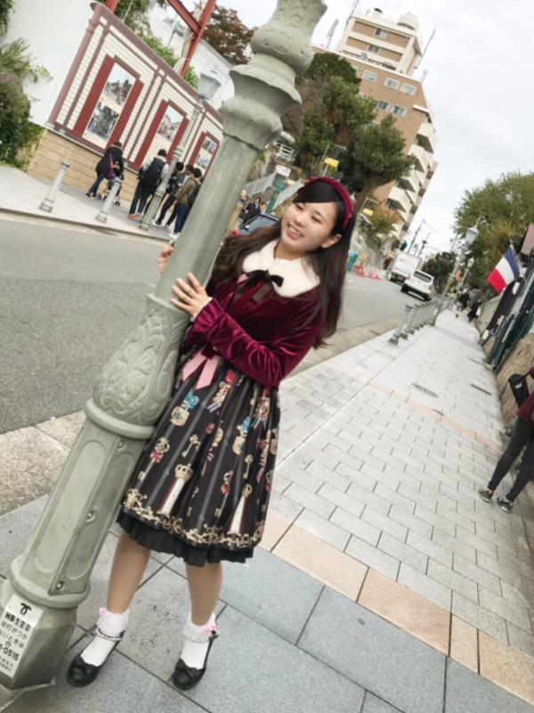 Saki's 「Angelic pretty」themed photo (2018/11/15)