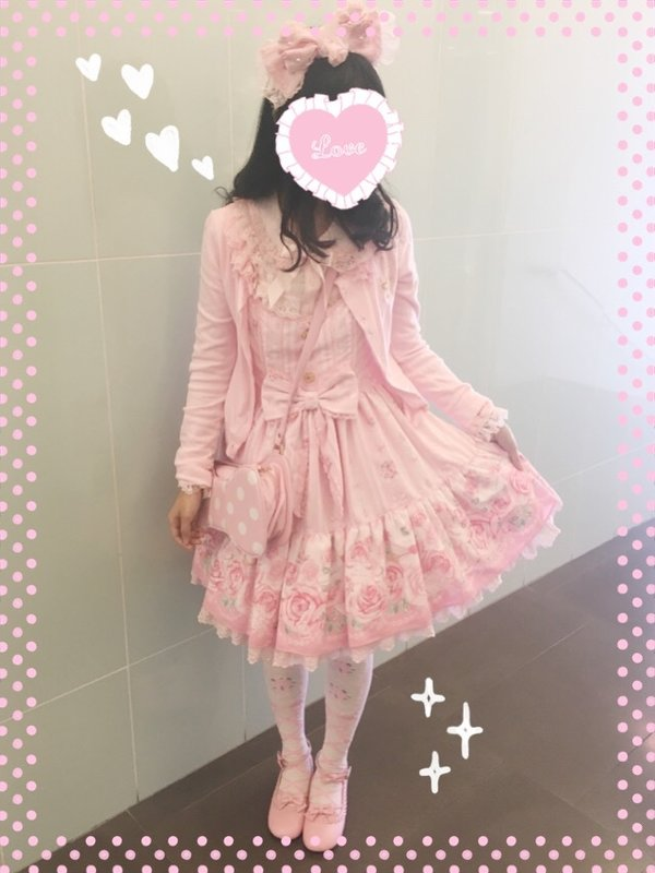 Kuroeko's 「Angelic pretty」themed photo (2017/05/01)