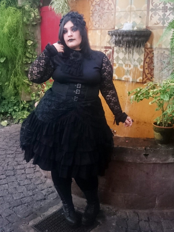 Bara No Hime's 「Gothic Lolita」themed photo (2018/11/17)