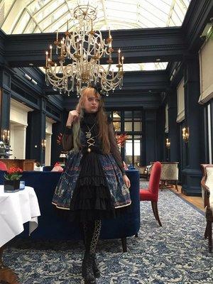 ヘレネ アラベルラ ブトの「Gothic Lolita」をテーマにしたコーディネート(2018/12/06)