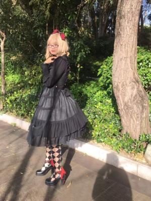 是沉迷于红茶和啵酱的风璃以「Lolita」为主题投稿的照片(2018/12/07)