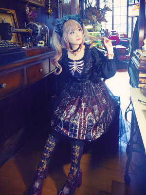 Sayuki's 「Lolita fashion」themed photo (2018/12/10)