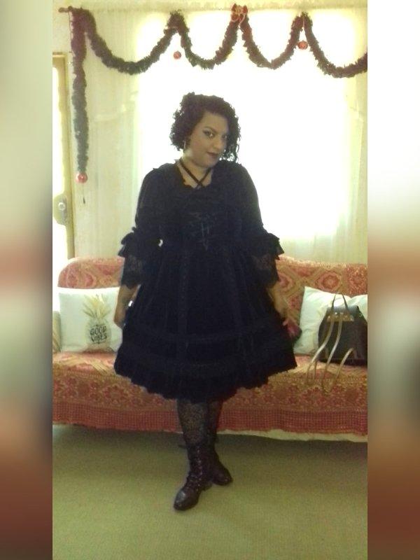 Niki Oosakiの「Lolita」をテーマにしたコーディネート(2018/12/11)