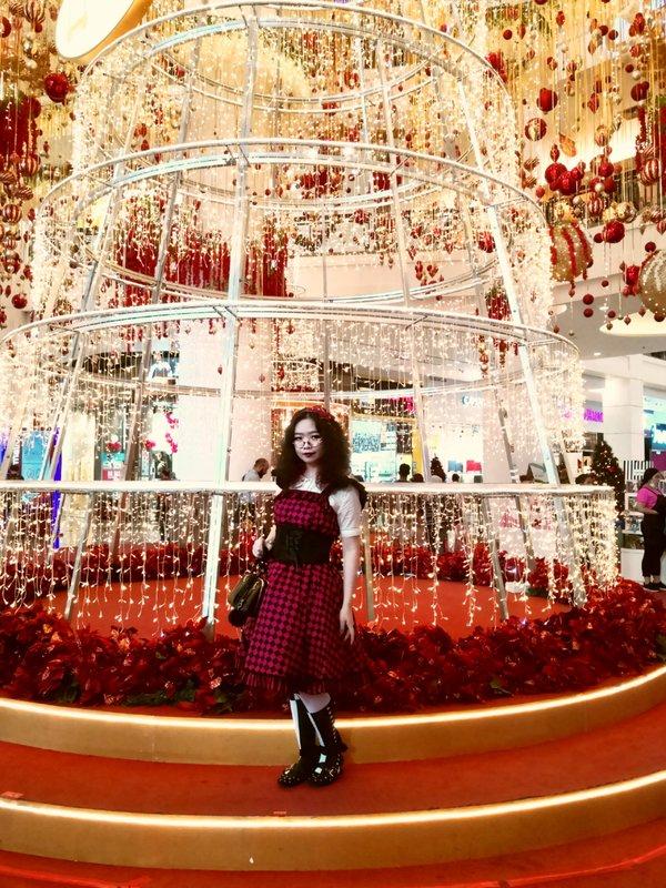 Qiqiの「Christmas」をテーマにしたコーディネート(2018/12/20)