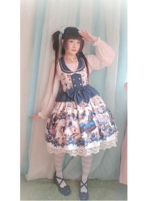 Sayuki's 「Lolita fashion」themed photo (2018/12/23)