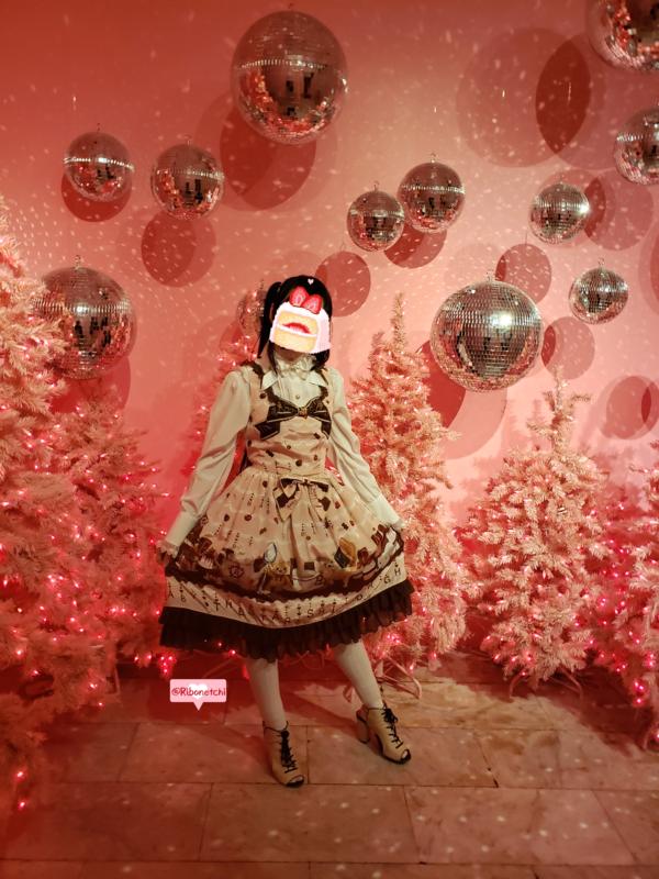 Ribonetchiの「Sweet lolita」をテーマにしたコーディネート(2018/12/24)