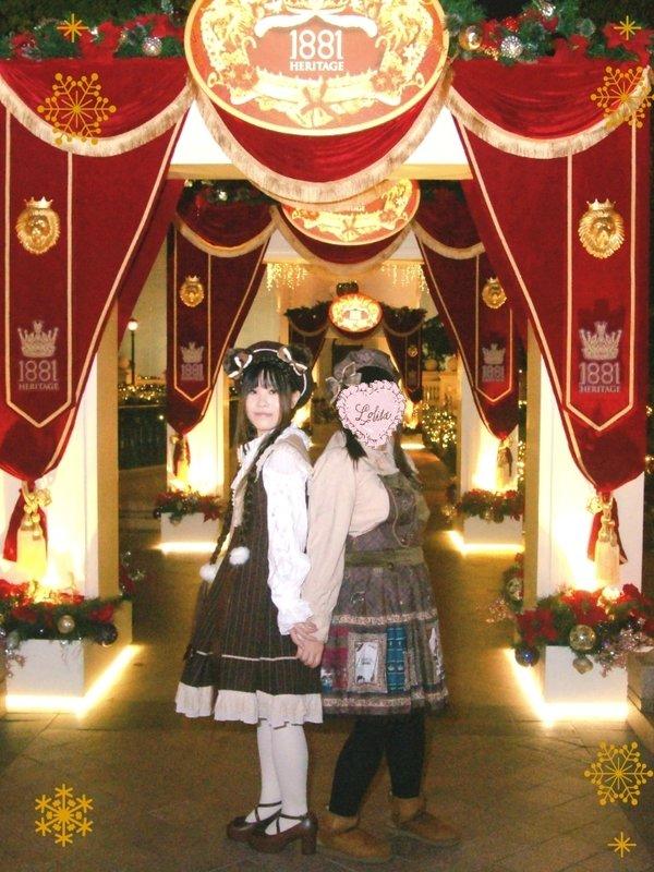 篠崎舞の「Christmas」をテーマにしたコーディネート(2018/12/26)