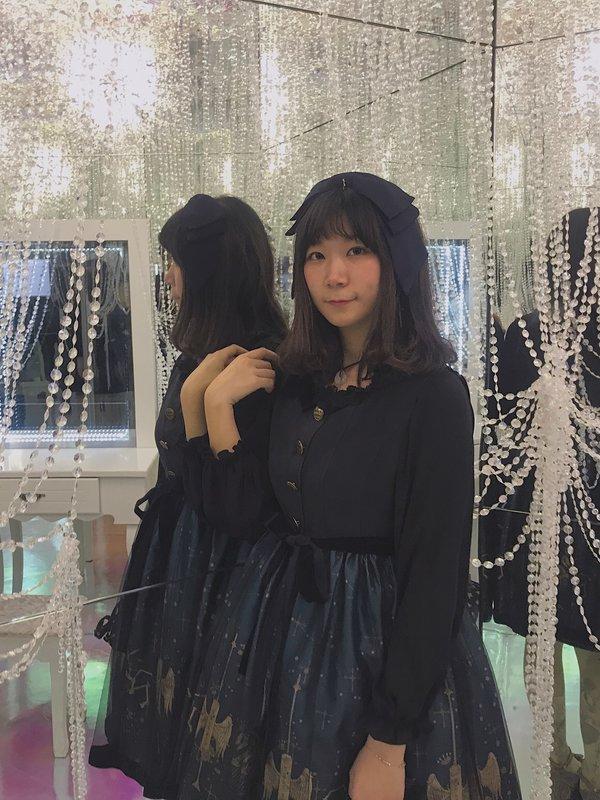 YAMO需要一麻袋智面包の「Lolita」をテーマにしたコーディネート(2018/12/26)