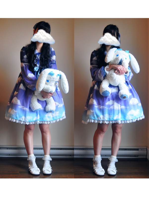 apple's 「Angelic pretty」themed photo (2018/12/26)
