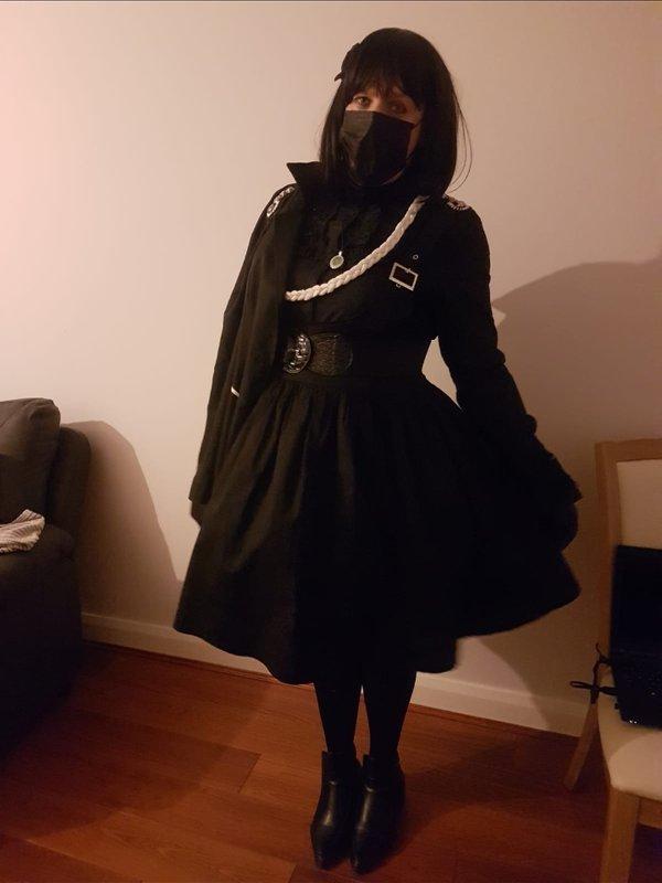 Miss Paula's 「Gothic Lolita」themed photo (2018/12/29)