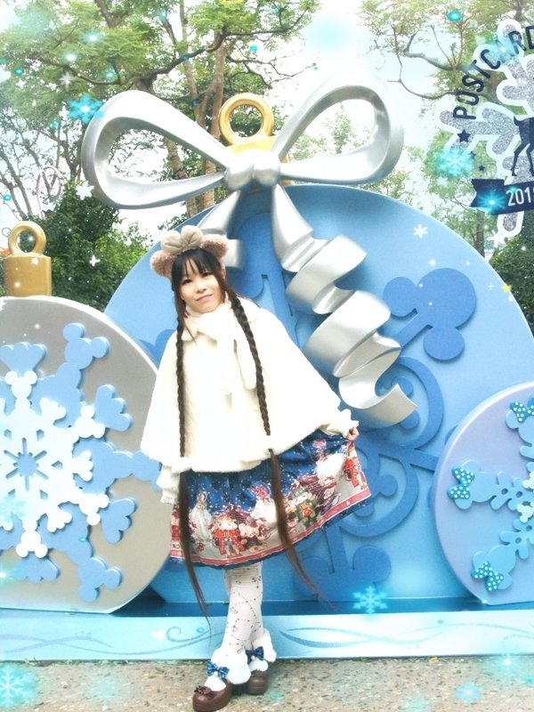 篠崎舞's 「Christmas」themed photo (2018/12/31)