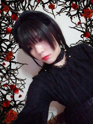 是夏蜜柑以「Gothic Lolita」为主题投稿的照片(2019/01/07)