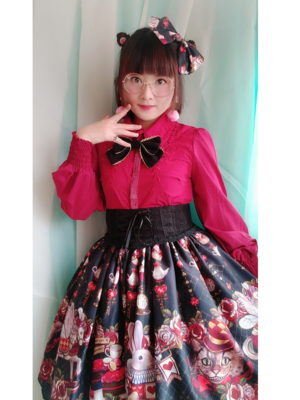 Sayuki's 「Lolita fashion」themed photo (2019/01/07)