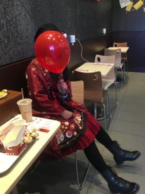 是沉迷于红茶和啵酱的风璃以「Lolita」为主题投稿的照片(2019/01/08)