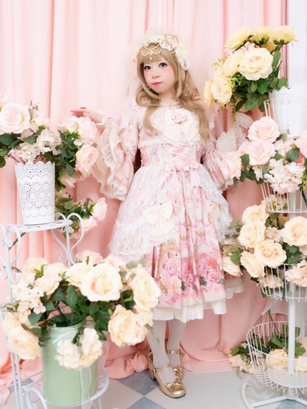 himeの「Angelic pretty」をテーマにしたコーディネート(2019/01/10)