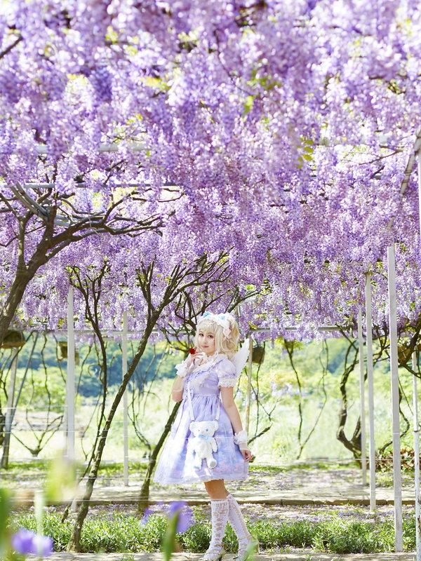 兔小璐の「Angelic pretty」をテーマにしたコーディネート(2019/01/10)