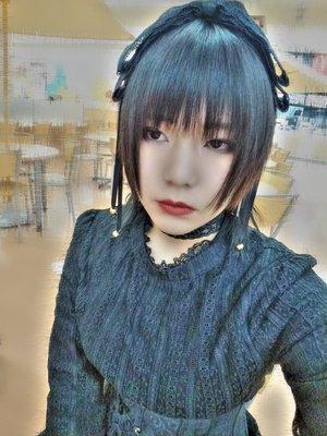 是夏蜜柑以「Gothic Lolita」为主题投稿的照片(2019/01/12)