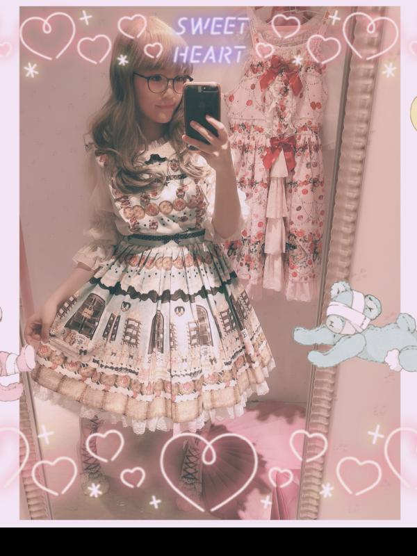 Aricy Mist 艾莉鵝の「Lolita」をテーマにしたコーディネート(2019/01/17)