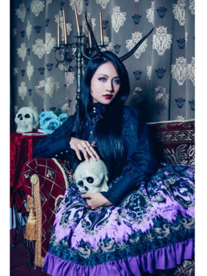 万梨音 Marion's 「Gothic Lolita」themed photo (2019/02/04)