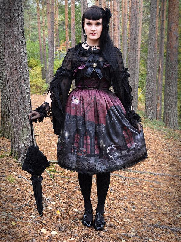 Marjo Laineの「Gothic Lolita」をテーマにしたコーディネート(2019/02/05)