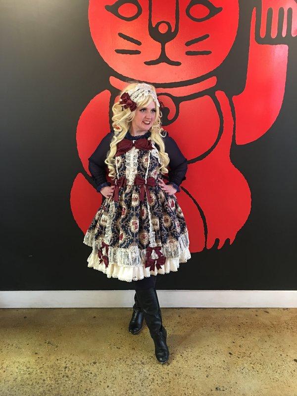 Lulu Couture の「Lolita fashion」をテーマにしたコーディネート(2019/02/13)