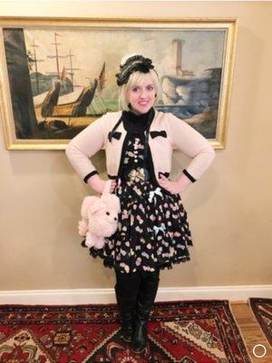 Luluの「Angelic pretty」をテーマにしたコーディネート(2019/02/15)