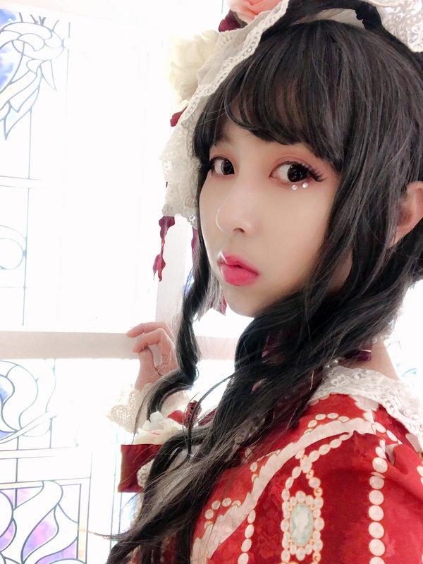 兔小璐の「Lolita」をテーマにしたコーディネート(2019/02/15)