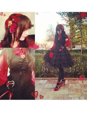 YamiSwanの「Lolita fashion」をテーマにしたコーディネート(2019/02/19)