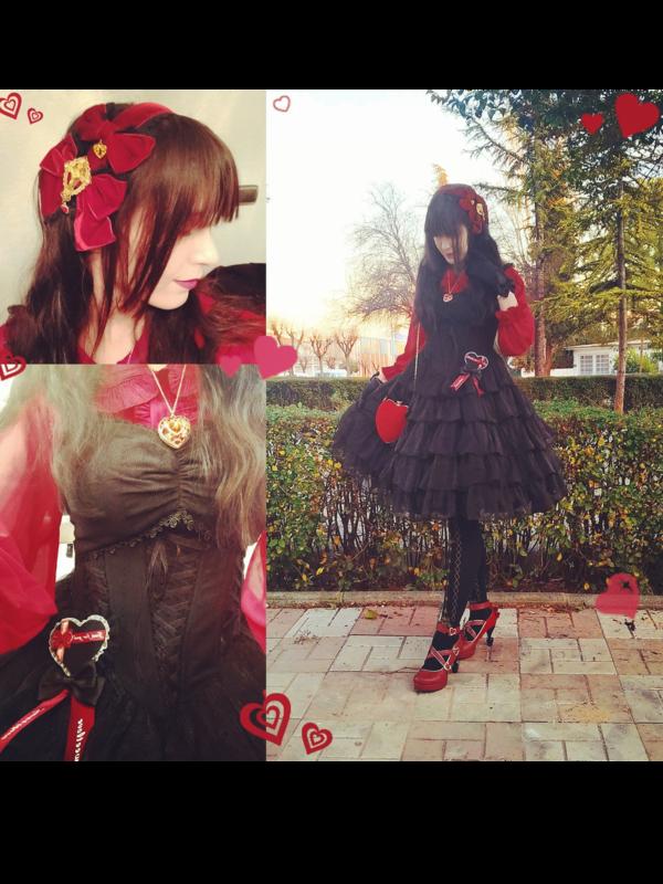 YamiSwan's 「Lolita fashion」themed photo (2019/02/19)