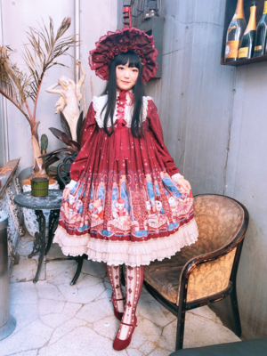 舞's 「Lolita fashion」themed photo (2019/02/27)