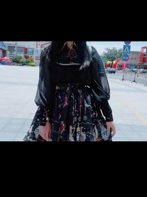 安郁沫の「Black」をテーマにしたコーディネート(2019/02/28)