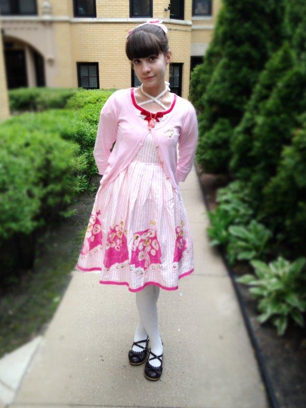 是Alice以「Angelic pretty」为主题投稿的照片(2017/05/16)