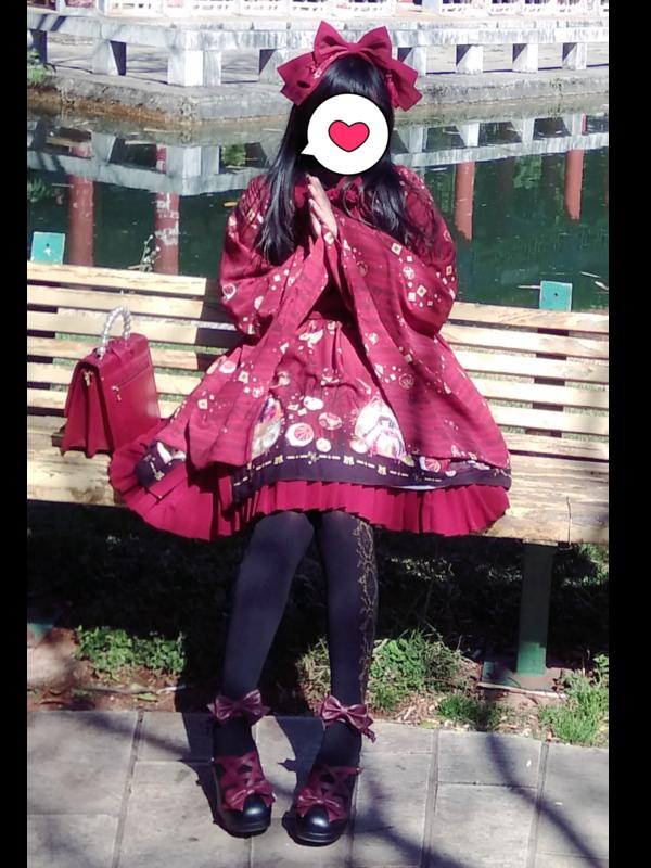 沉迷于红茶和啵酱的风璃の「Lolita」をテーマにしたコーディネート(2019/03/09)