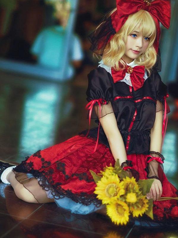 翠翠子の「Angelic pretty」をテーマにしたコーディネート(2019/03/15)