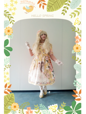 Anaïsse's 「Classic Lolita」themed photo (2019/03/21)