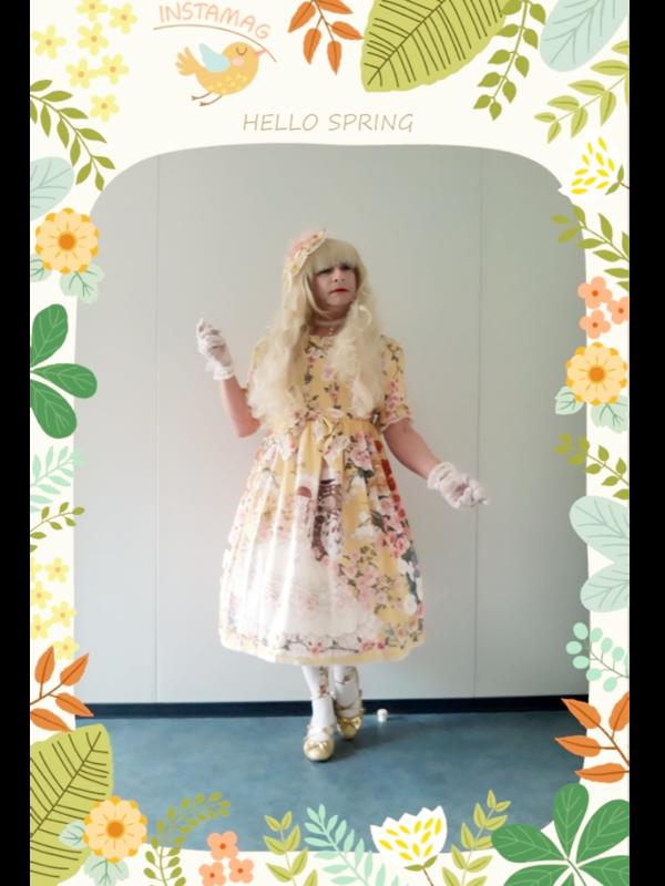 Anaïsseの「Classic Lolita」をテーマにしたコーディネート(2019/03/21)