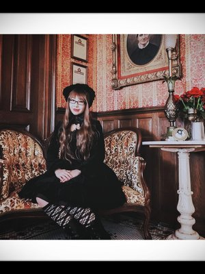 Mei Mei's 「Gothic Lolita」themed photo (2019/04/01)