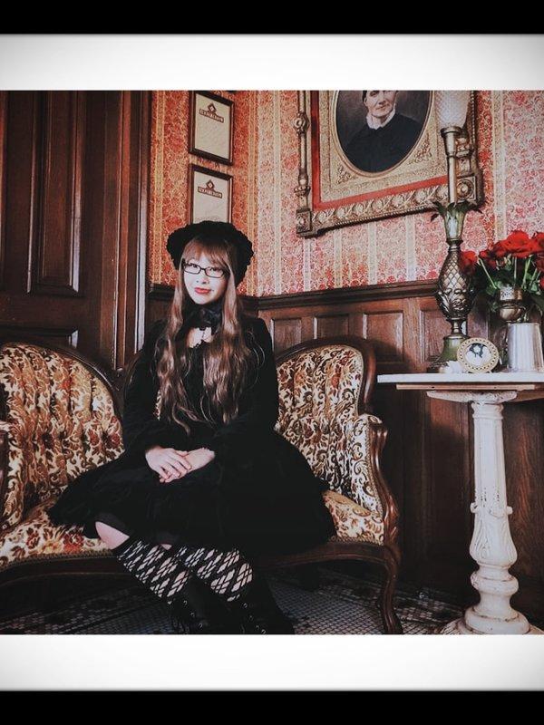 Mei Mei's 「Gothic Lolita」themed photo (2019/04/01)